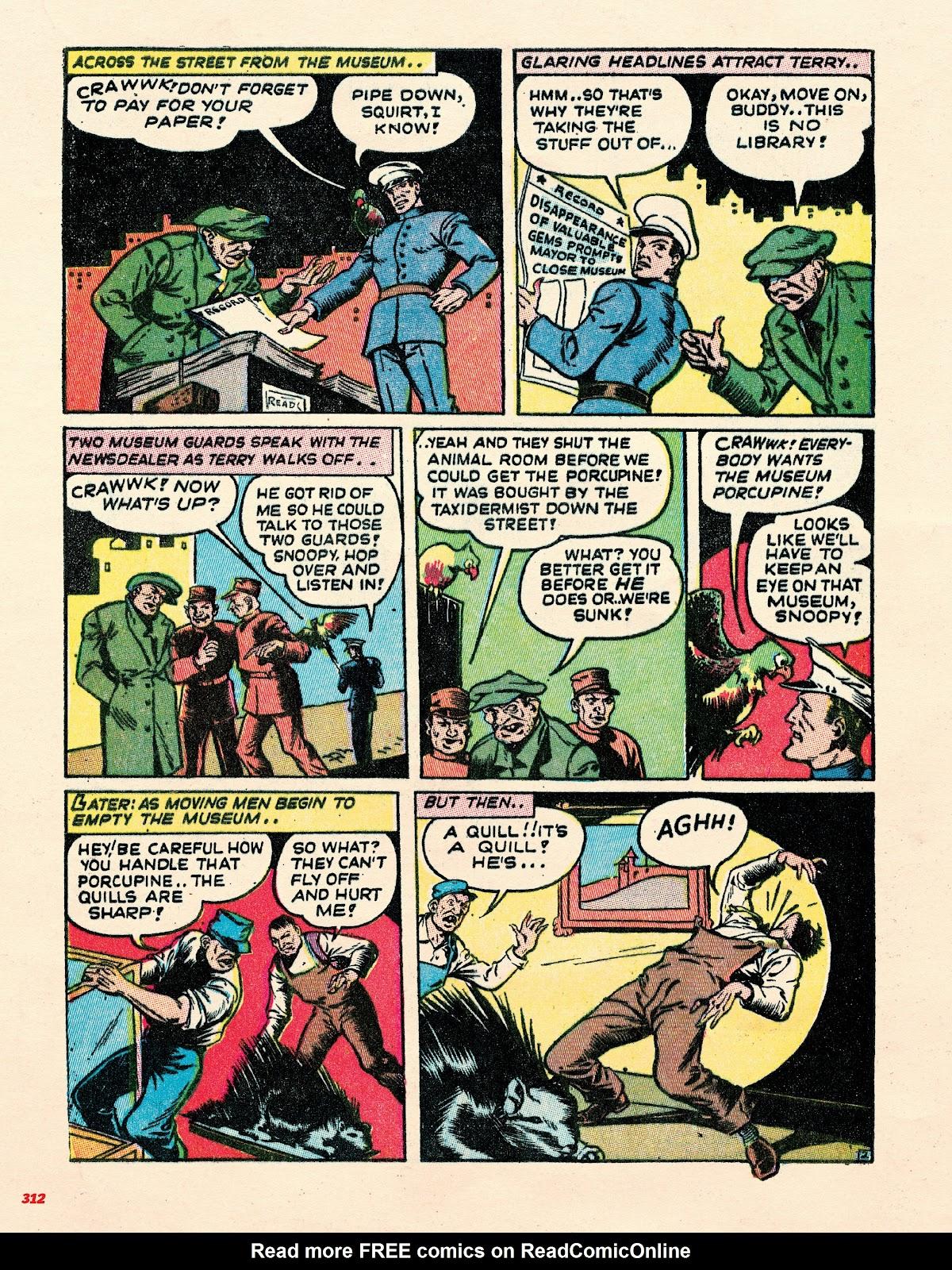 Read online Super Weird Heroes comic -  Issue # TPB 2 (Part 3) - 112