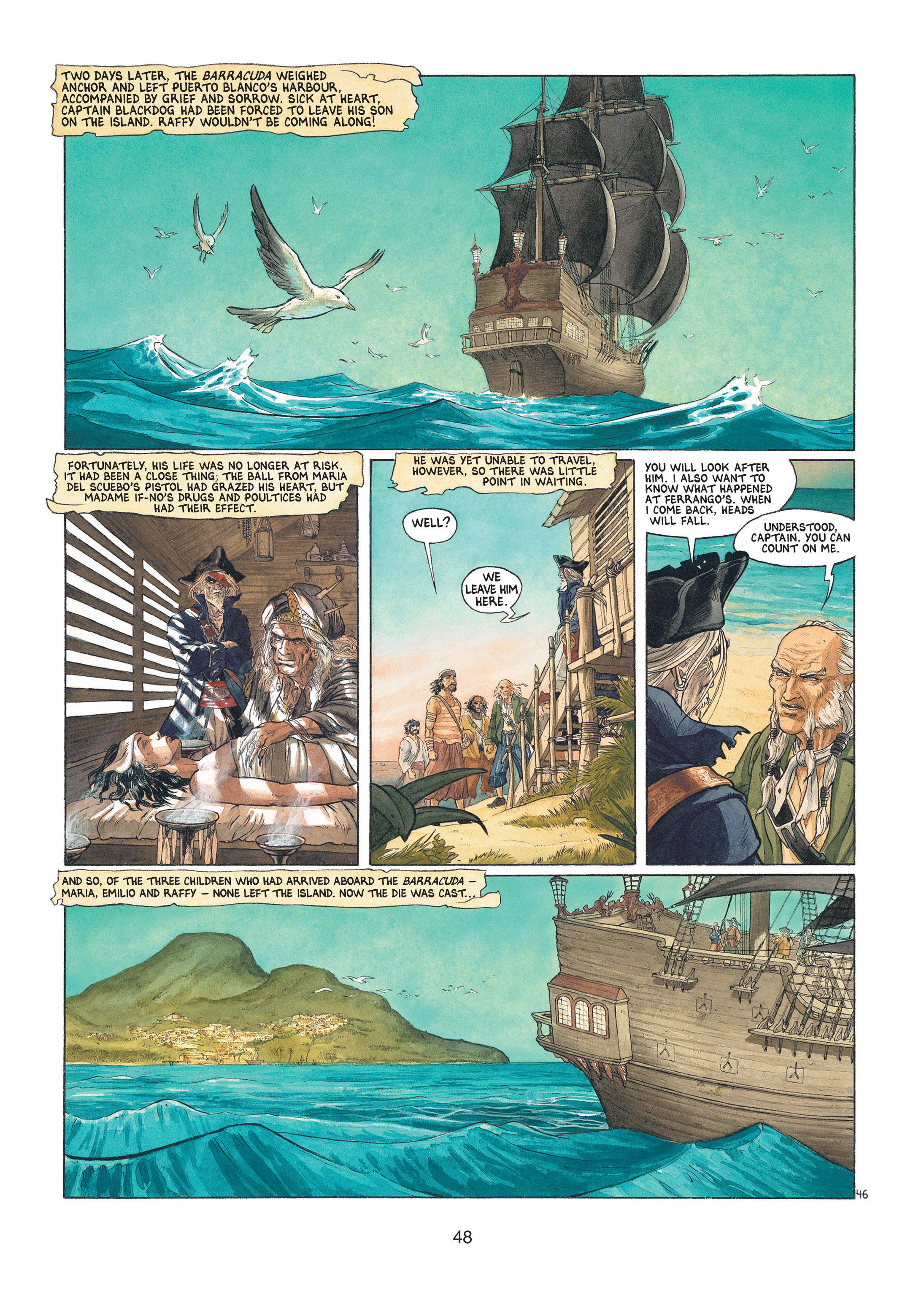 Read online Barracuda comic -  Issue #1 - 48