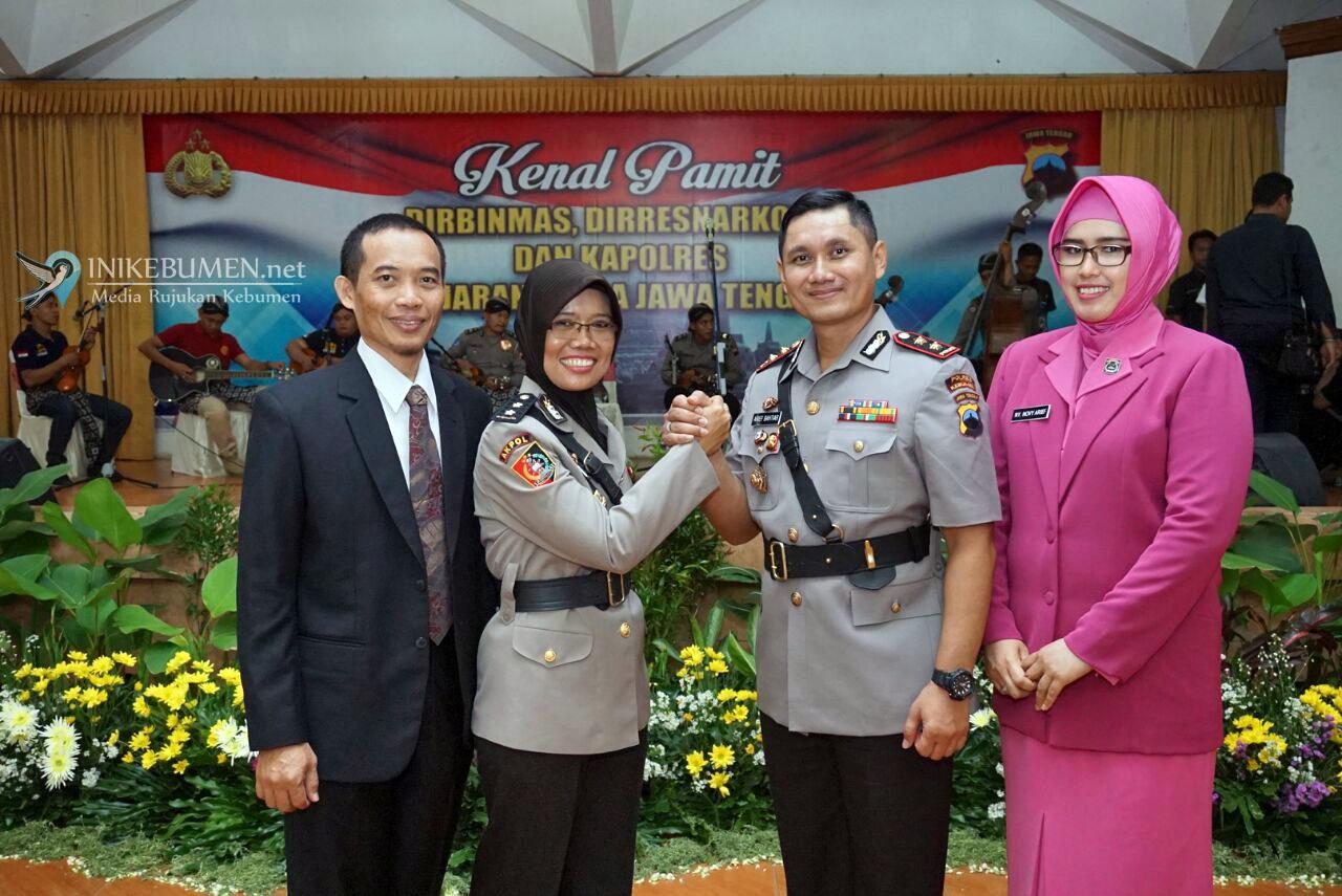 Resmi Jabat Kapolres Kebumen, AKBP Arief Bahtiar Janji Lanjutkan Progam AKBP Titi Hastuti