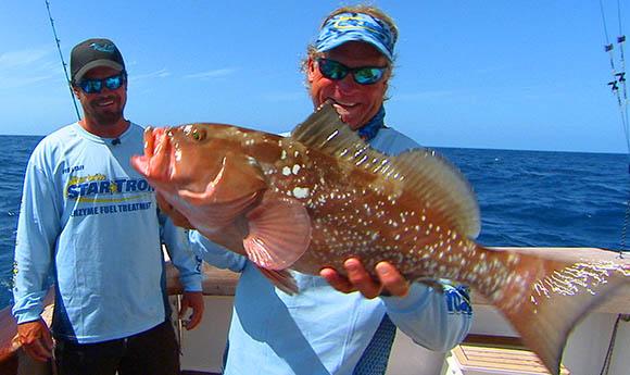 Capt Blair Wiggins Key West Red Grouper