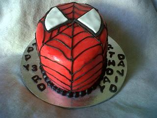 Pin Spiderman Themed Birthday Cake Childrens Cakes Cake