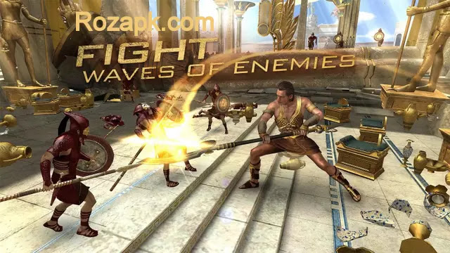 Gods Of Egypt Game Mod Apk (Endless Skills) v1.0 Latest Version For Android