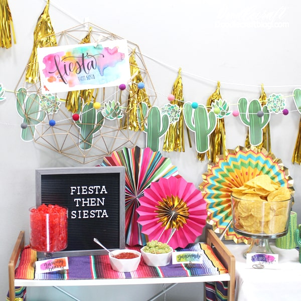 Fiesta party ideas perfect for a birthday, cinco de mayo, or taco Tuesday party!