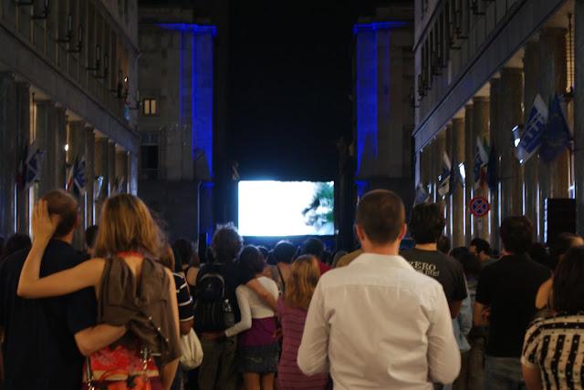 Profondo rosso, proiezione pubblica a Torino, 2009