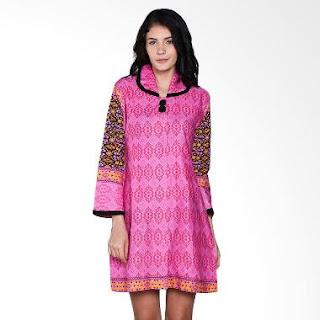 Model Baju Batik Etnik Modern untuk Wanita