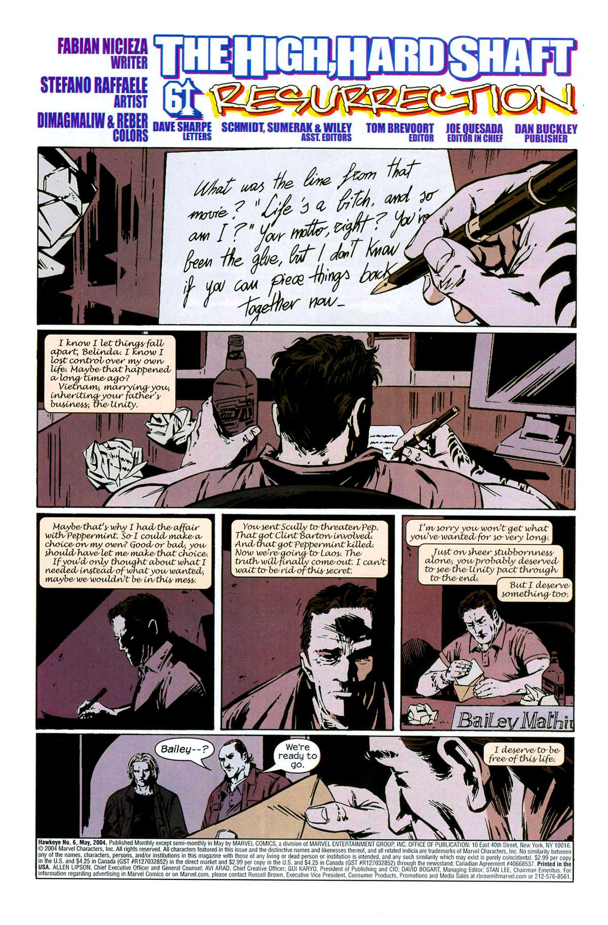 Hawkeye (2003) Issue #6 #6 - English 5