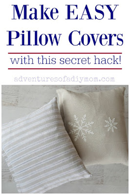 Make easy pillow covers with this secret hack!
