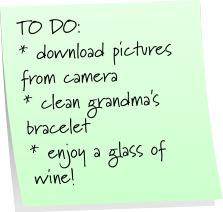 ToDo list - How to clean your silver jewelry :: All the Pretty Things