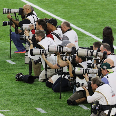 Canon EOS DSLR Cameras and EF Lenses Touch Down on the Sidelines of the Big Game in Houston