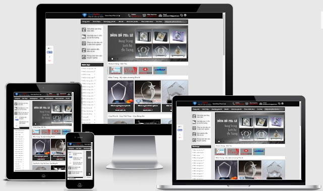 Template blogspot bán hàng quà lưu niệm