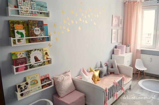 Skandynawski pokój dziecięcy, pokój rodzeństwa, pastelowy pokój dziecięcy, pokój dla dziewczynki, ikea