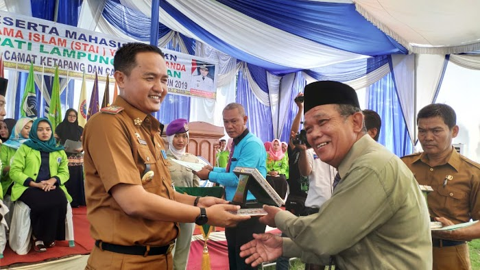 Pelepasan Kuliah Kerja Nyata (KKN) STAI YASBA Lamsel,  Akademik Tahun 2018/2019.