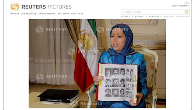 مقابلة وكالة أنباء رويترز بمريم رجوي