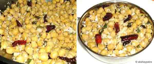 Kabuli chana usli -step 5 and 6