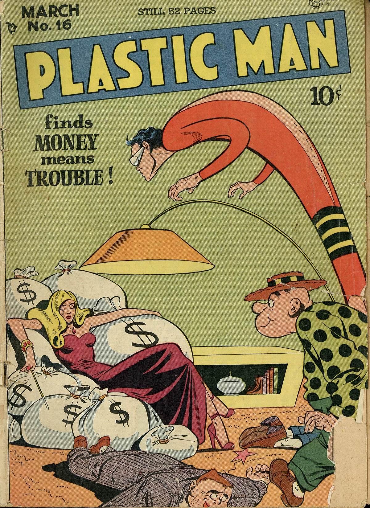 Plastic Man (1943) 16 Page 1