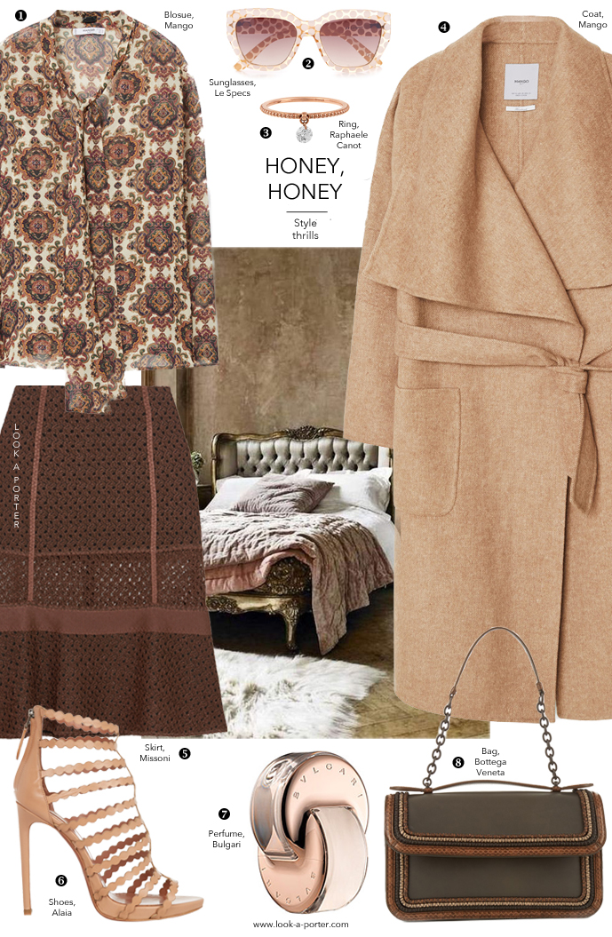 A few style ideas for a classic camel coat via www.look-a-porter.com style & fashion blog