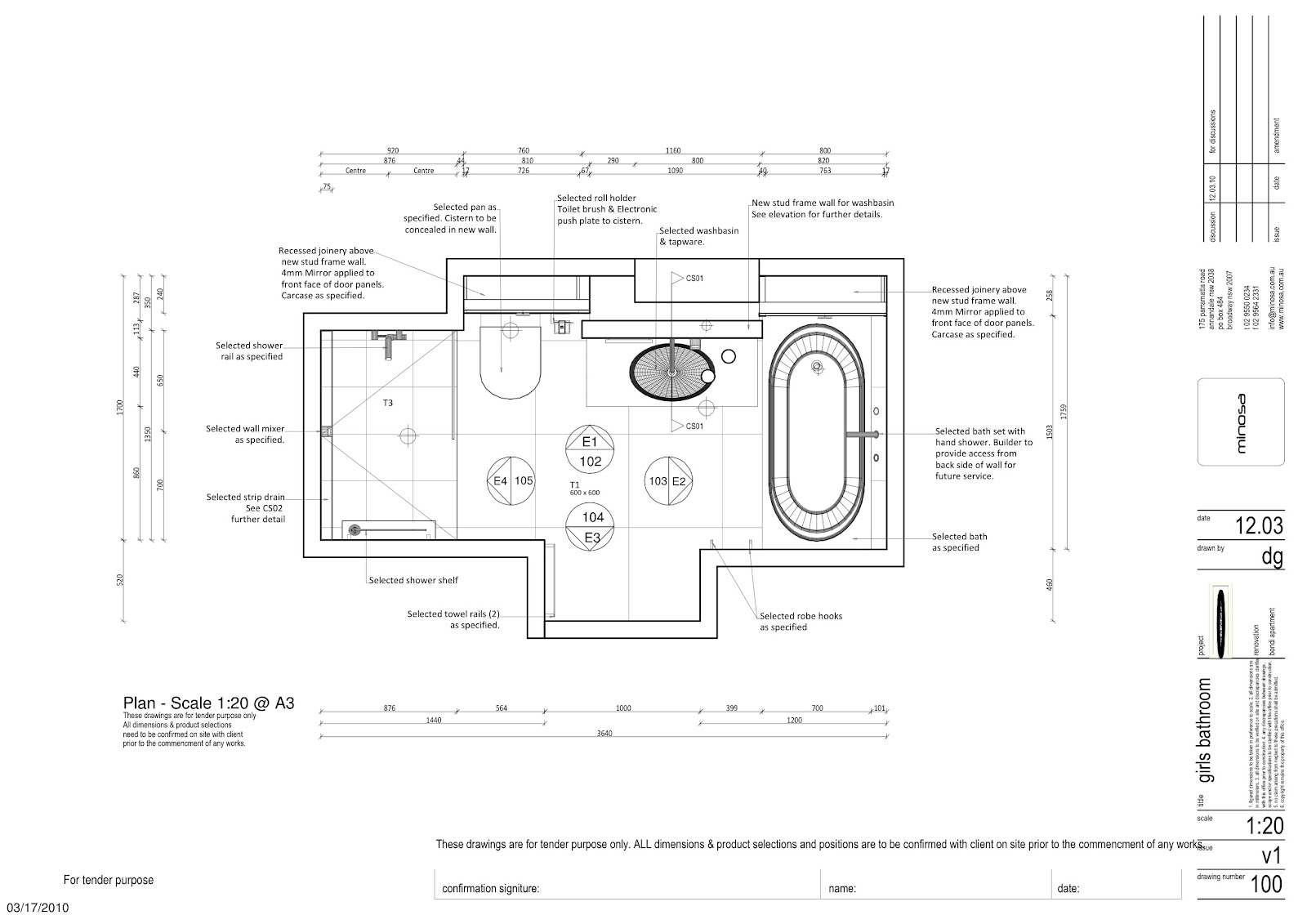 Minosa small bathroom that packs a lot of design into a - Small bathroom floor plans with shower ...
