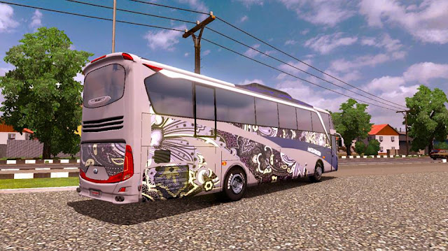 Download mod bus SHD ets2 v8 ets2