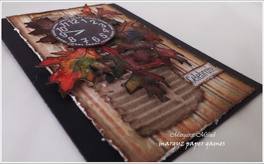Crafty Cardmakers Challenge #218 - Autumn Colours
