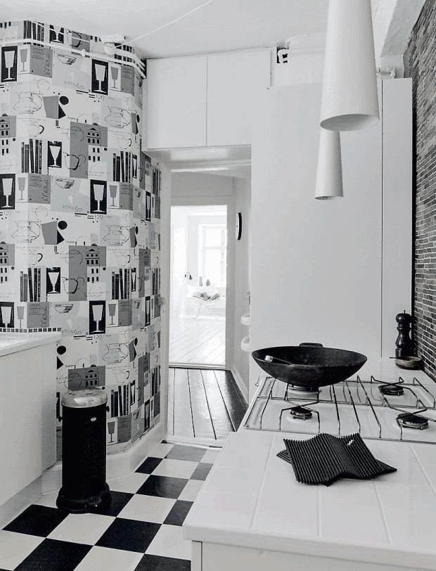 d couvrir l 39 endroit du d cor blanc et brun. Black Bedroom Furniture Sets. Home Design Ideas