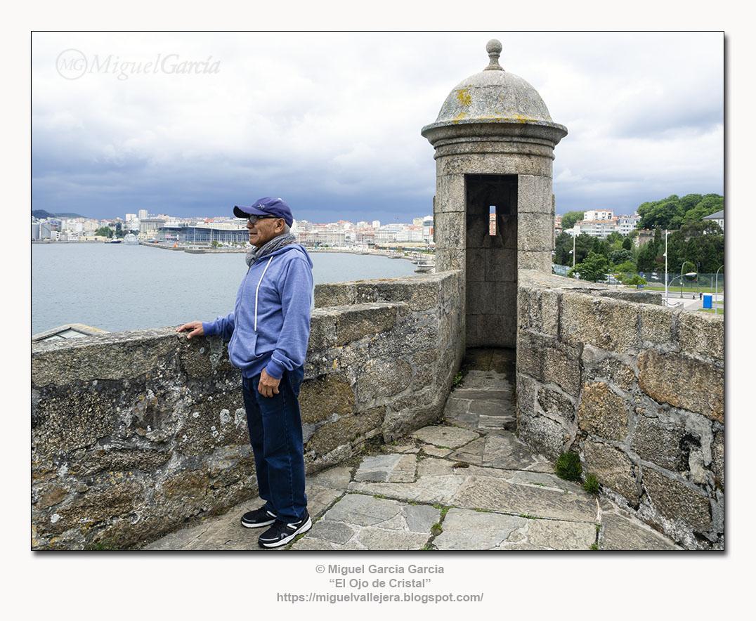 Castelo de San Antón, Paseo Marítimo, A Coruña.
