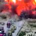 Впечатляющие кадры: танк уничтожил машину с террористами-смертниками (ВИДЕО)