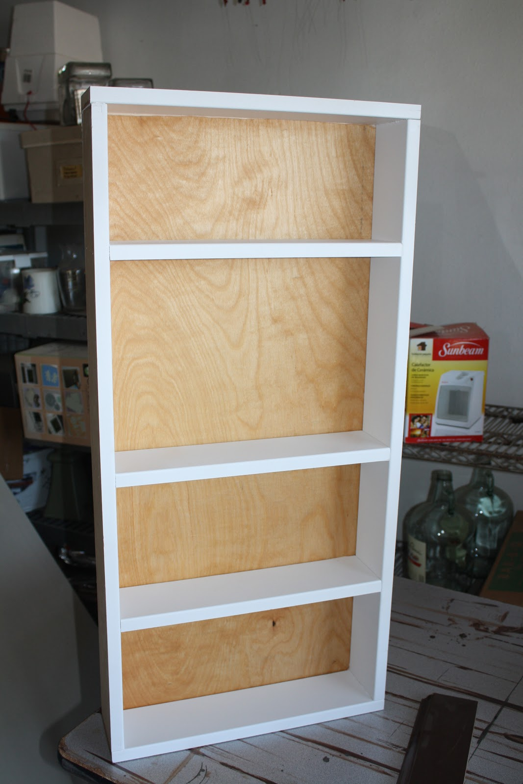 Passions And Pastimes Diy Recessed Shelving Part Ii