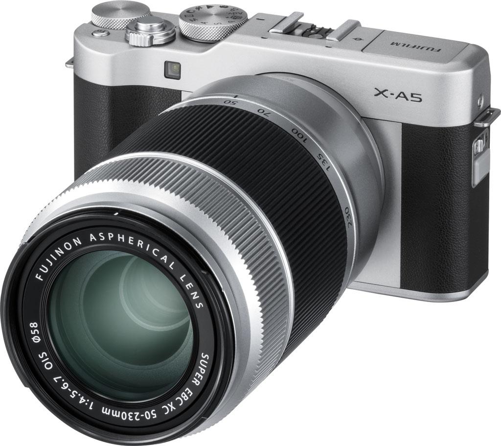 Fujifilm X-A5, черного цвета