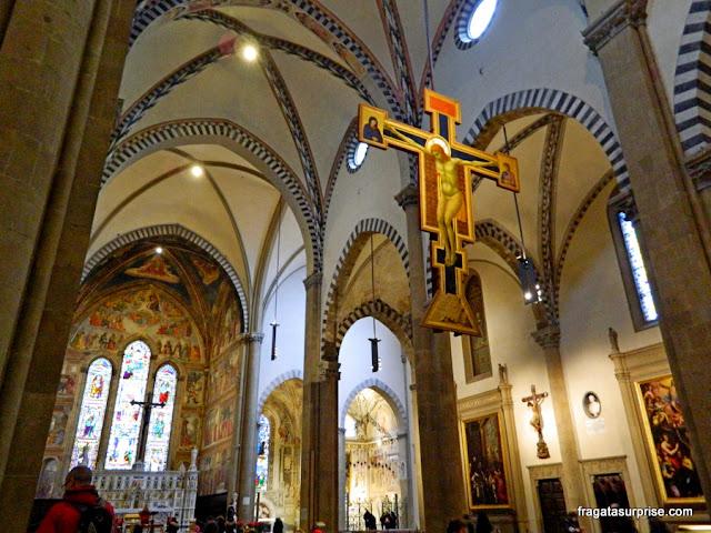 Crucifixo de Giotto na Basílica de Santa Maria Novella, Florença