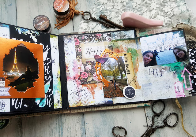 @nastyalena #album #scrapbooking #mixedmedia