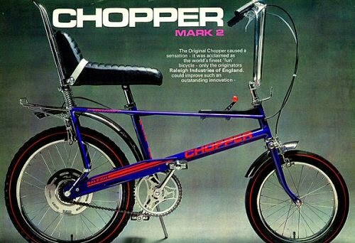 Latest Info About Raleigh Chopper Bikes