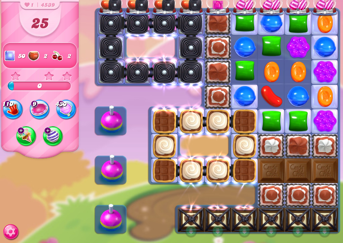Candy Crush Saga level 4539
