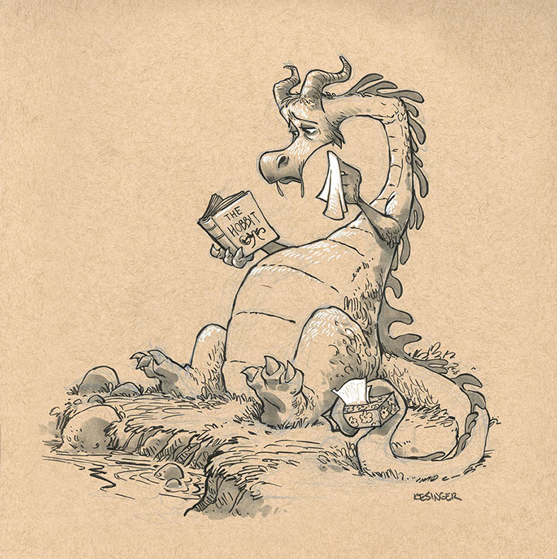 Artista dibuja dragones para destruir los estereotipos sobre ellos