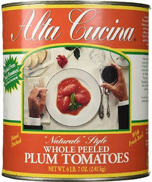 Stanislaus Tomatoes - Alta Cucina Canned Fresh Tomato Juice and Basil leaves - Grocery Fruit Vegetables