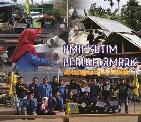 Indonesia Berduka, PMII Kutim Kumpulkan Donasi Untuk Korban Gempa NTB