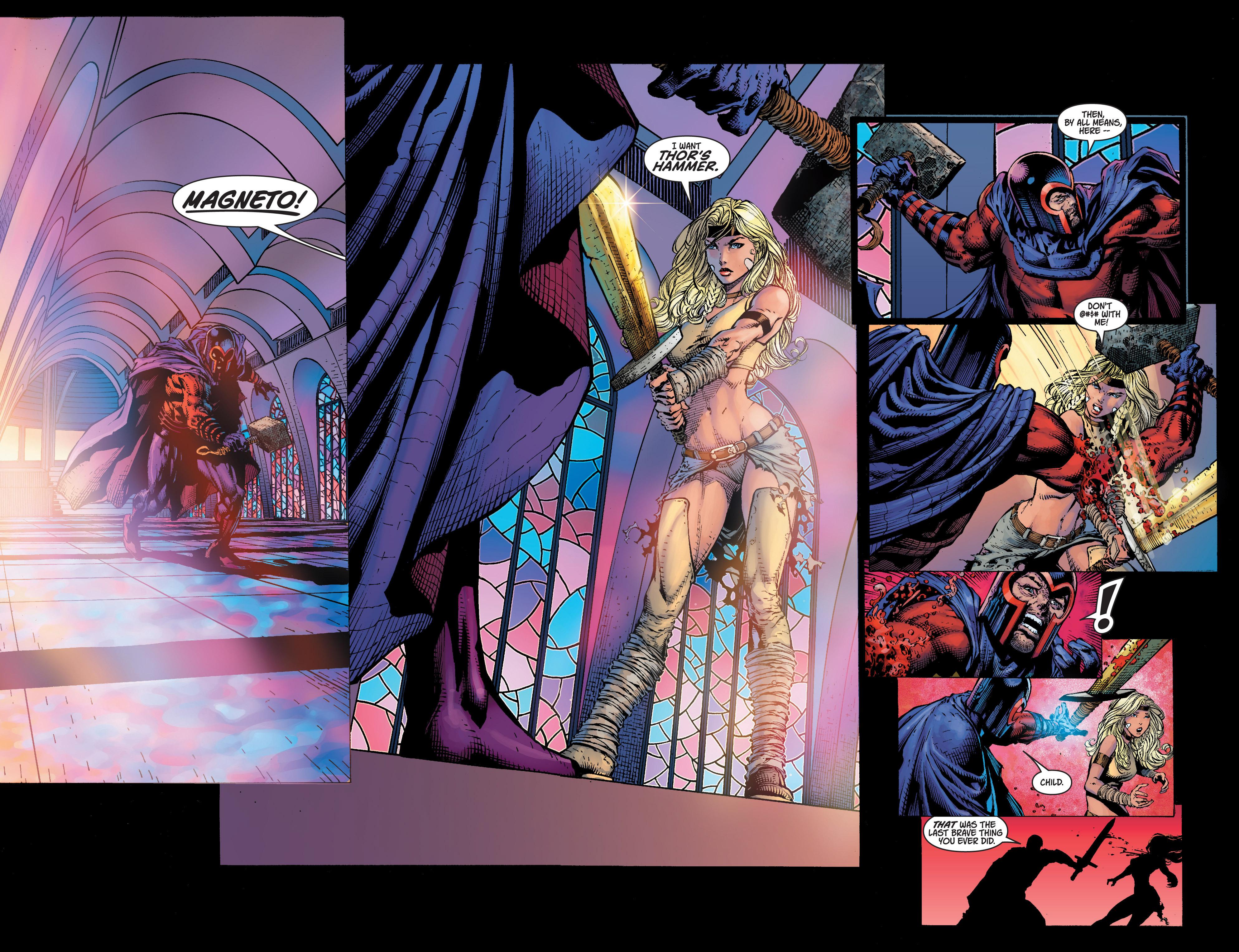 Read online Ultimatum comic -  Issue #4 - 19