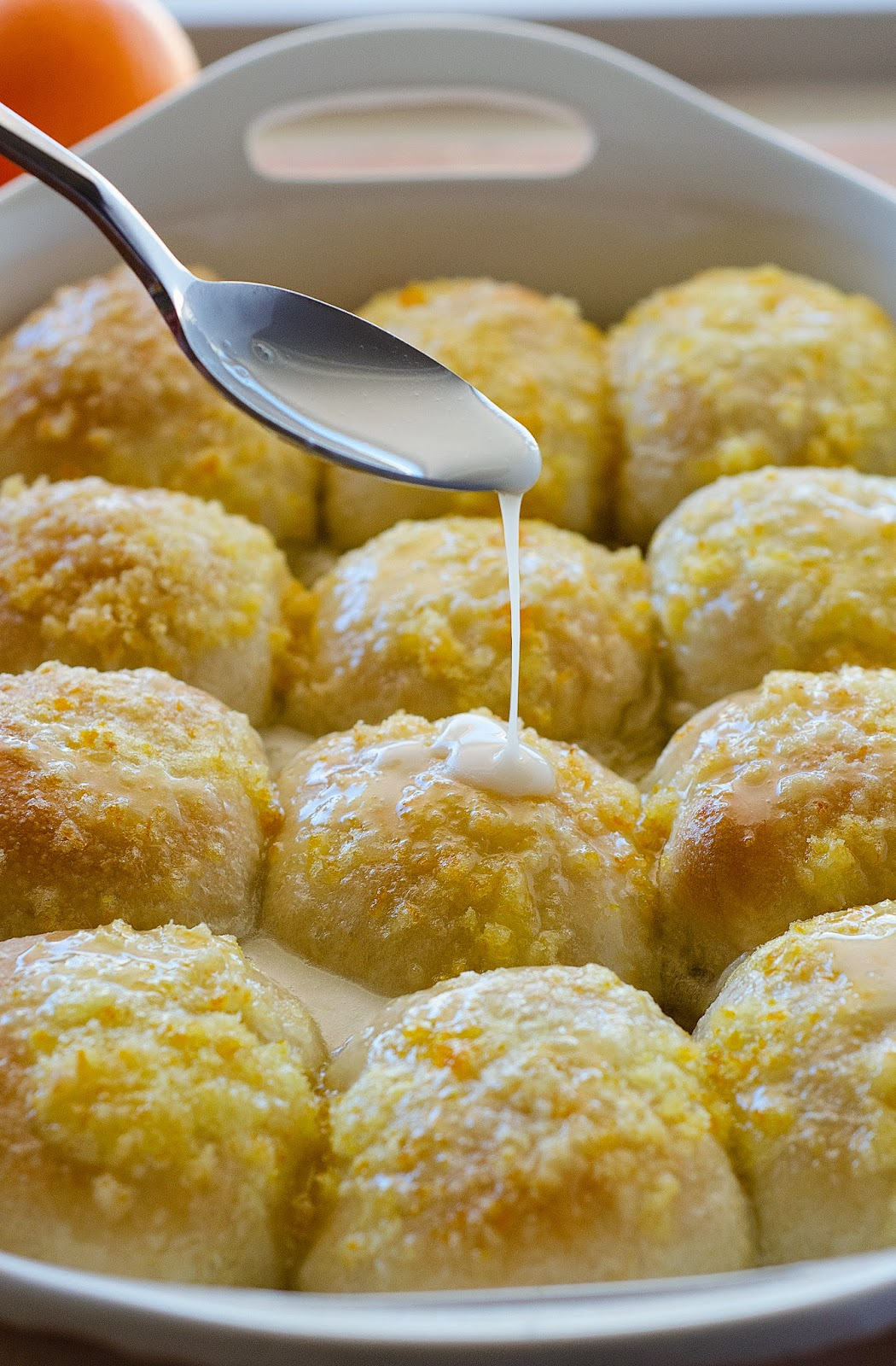 Easy Orange Rolls The Country Cook