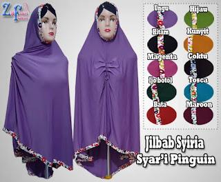 Jilbab-syiria-pinguin-jumbo-bahan-jersey