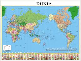 Penjelasan Peta Dunia Pengetahuan Sosial Syarat Wwwgambar