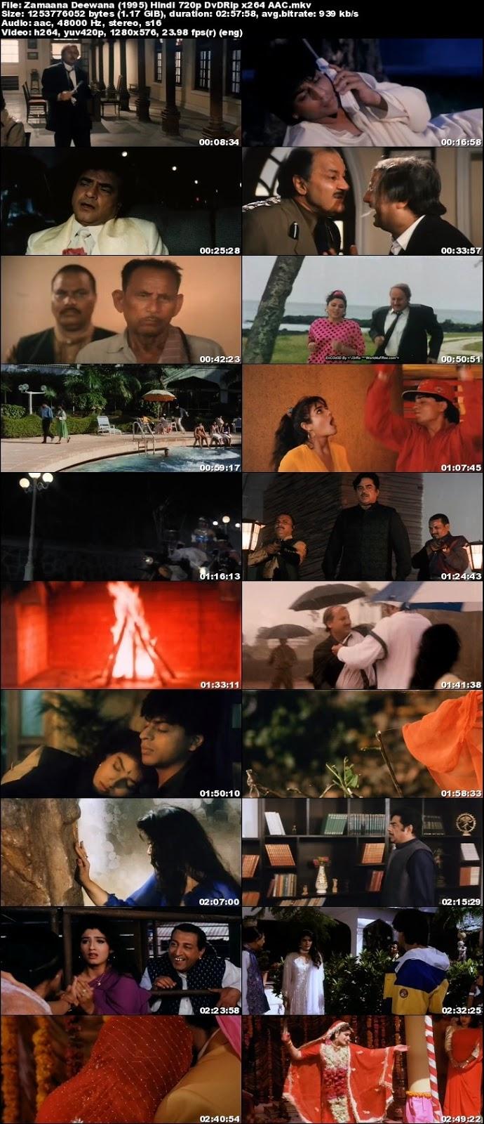 Zamaana Deewana 1995 Hindi Movie 1GB 720p DVDRip Free ...