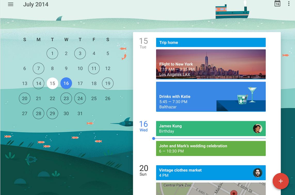 新版 Google日曆 App 10個疑難解答:找回7天月檢視