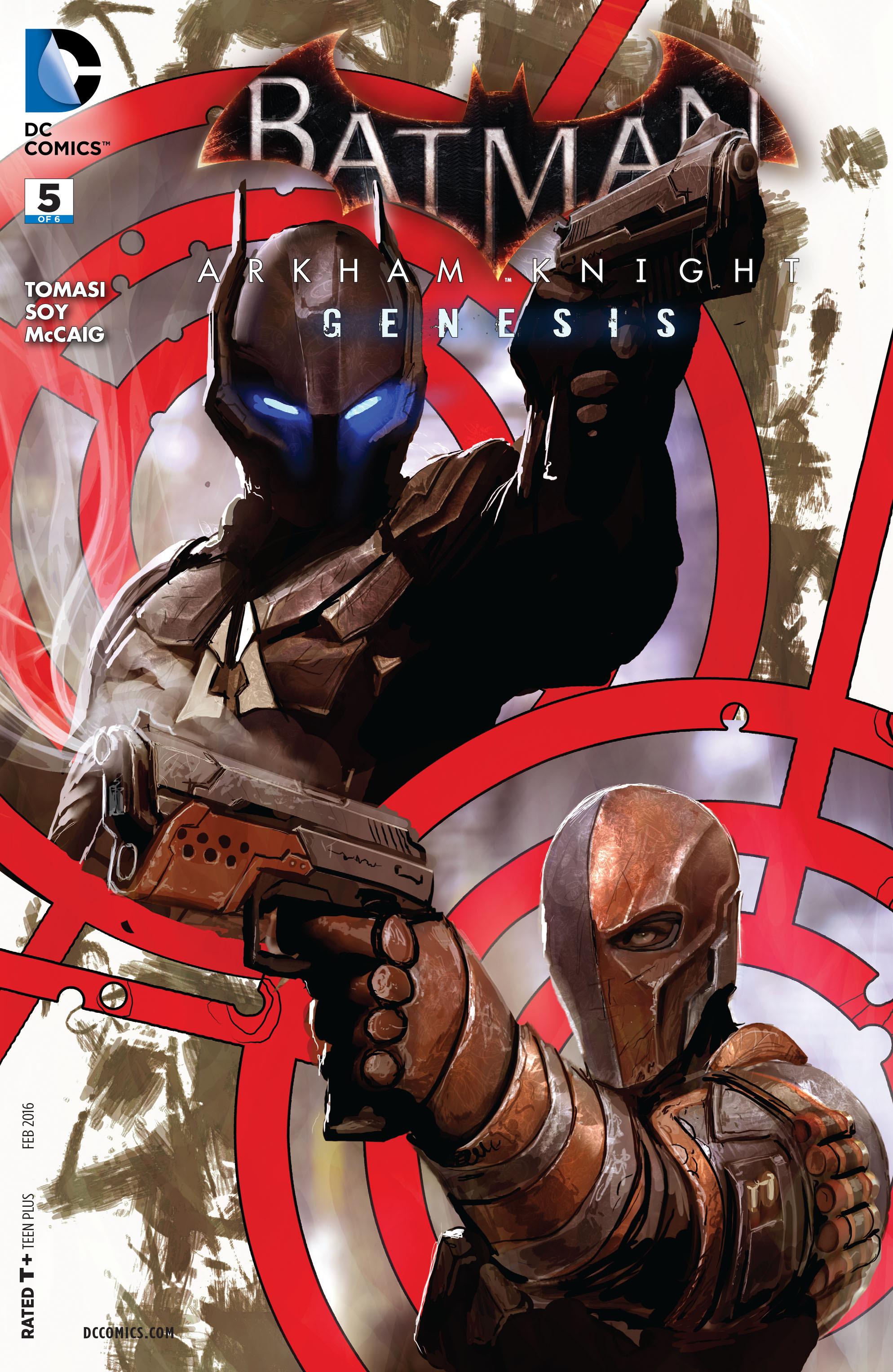 Batman: Arkham Knight: Genesis 5 Page 1