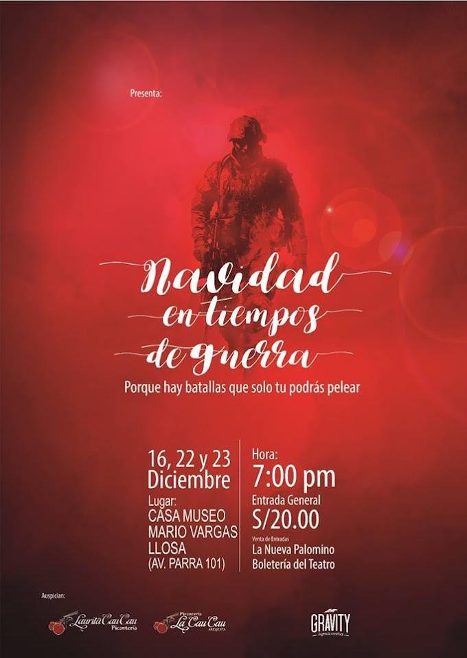 [Teatro] Navidad en Tiempos de Guerra - 22 y 23 de diciembre