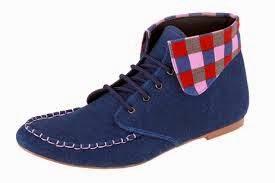 Sepatu model korea untuk pria wanita terbaru wedges boots ...