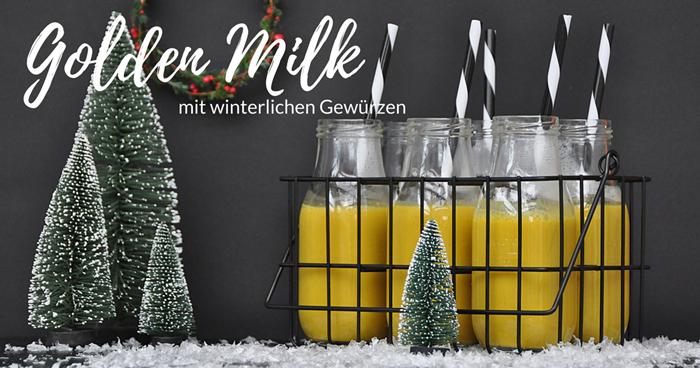 Golden milk rezept goldene milch