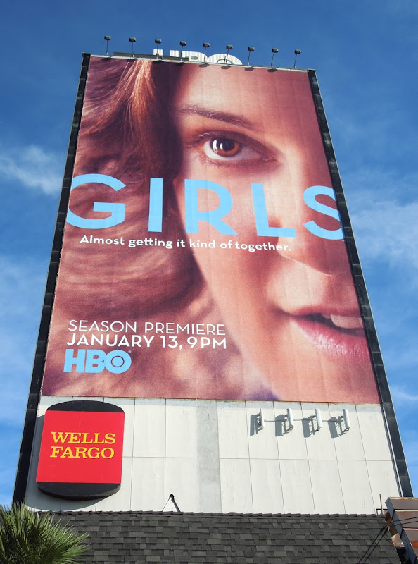 Giant Girls season 2 billboard