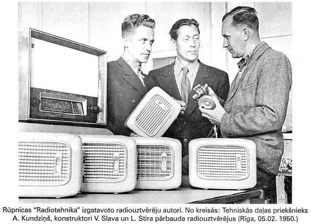"""Радиоприемники и их авторы с завода """"Радиотехника"""""""