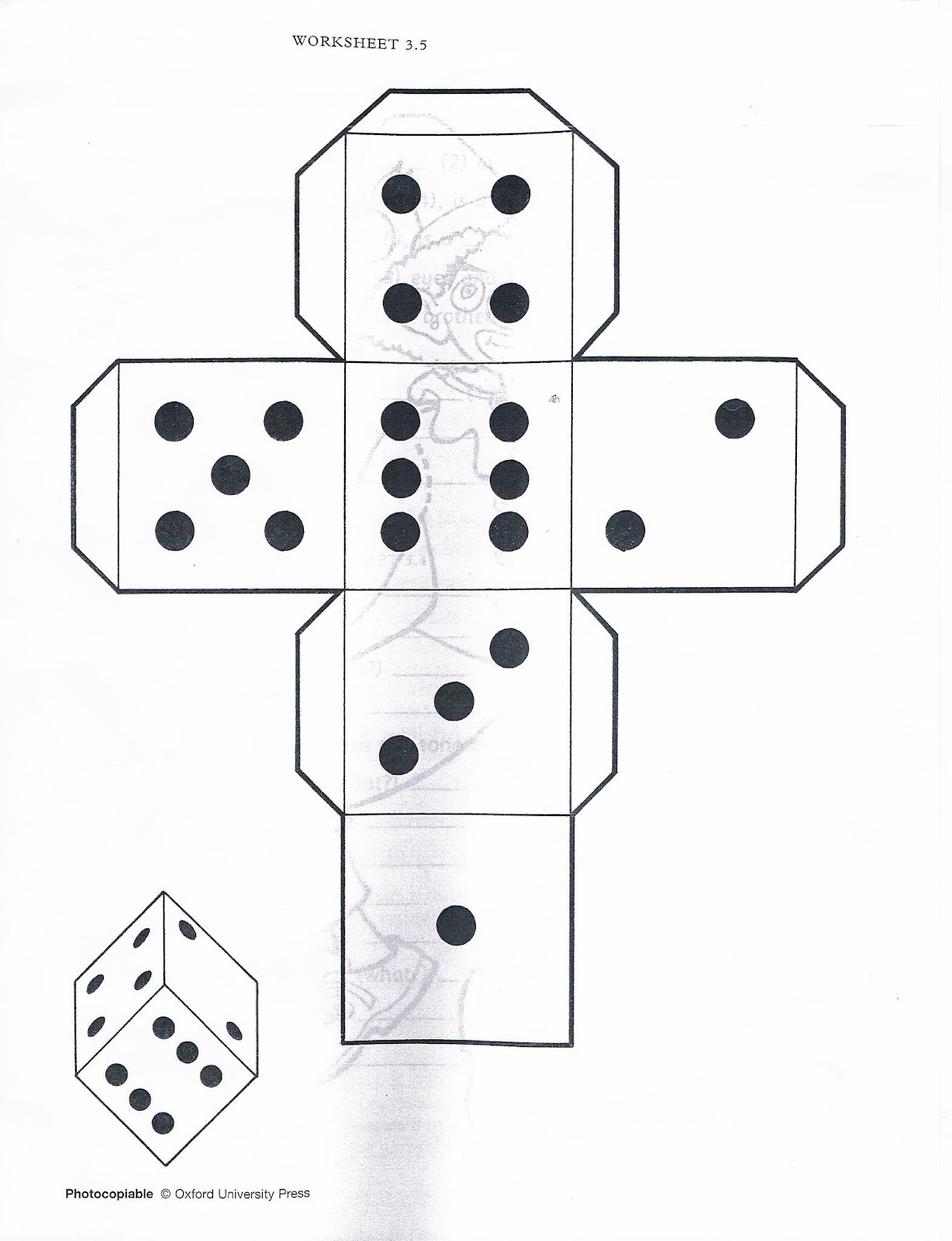Community Of Professional Learning For English Esl Teachers Template A Cube Or Dice