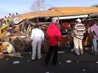 26 people killed in horrific road accident along Nairobi-Mombasa highway (Shocking PHOTOS)