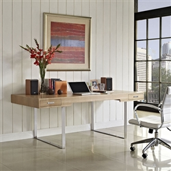 Mid Century Modern Office Interior
